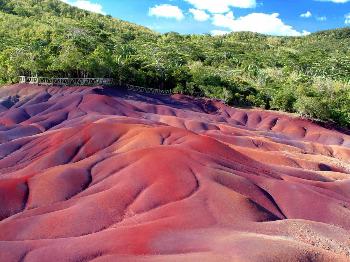 Seven Coloured Earth Chamarel - Mauritius