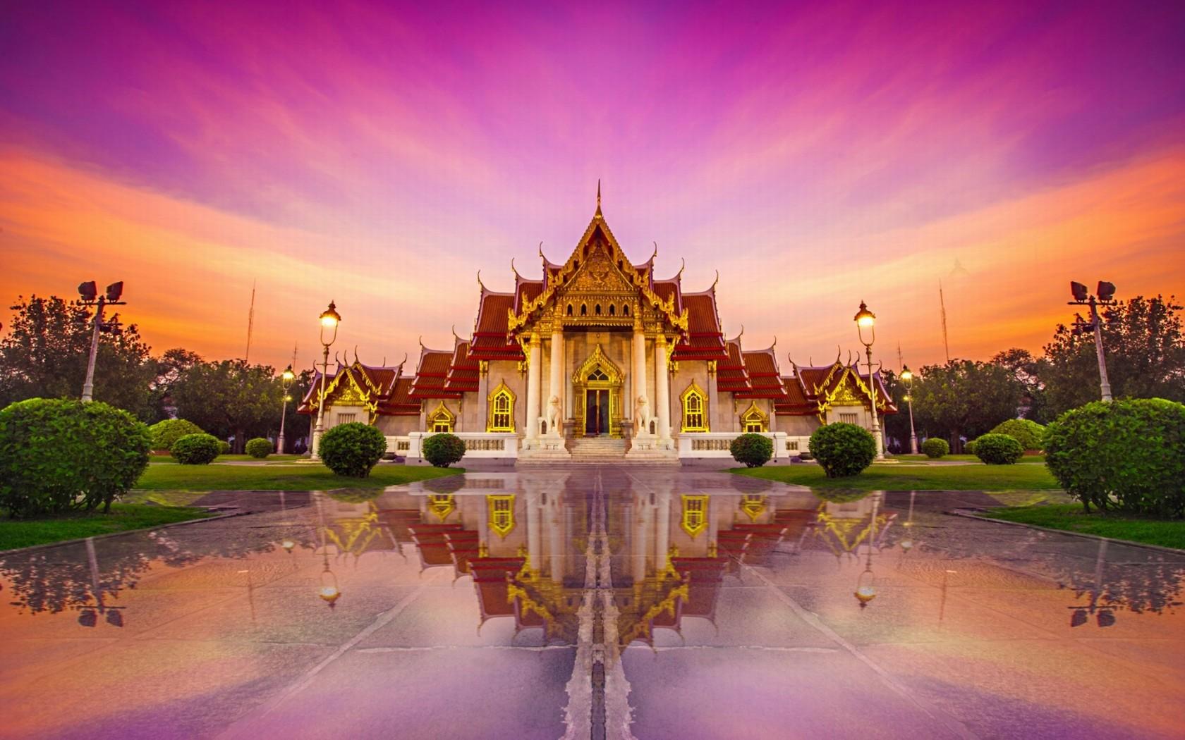 wat-benchamabophit-thailand-wallpaper